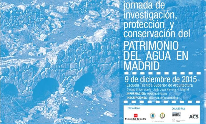 Invitación Patrimonio del agua